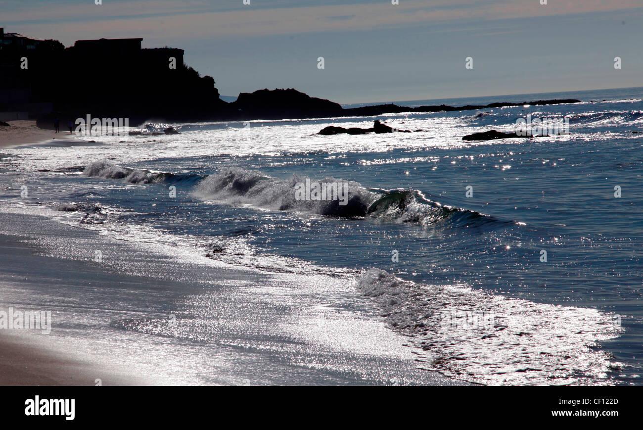 LAGUNA BEACH,CALIFORNIA Stock Photo