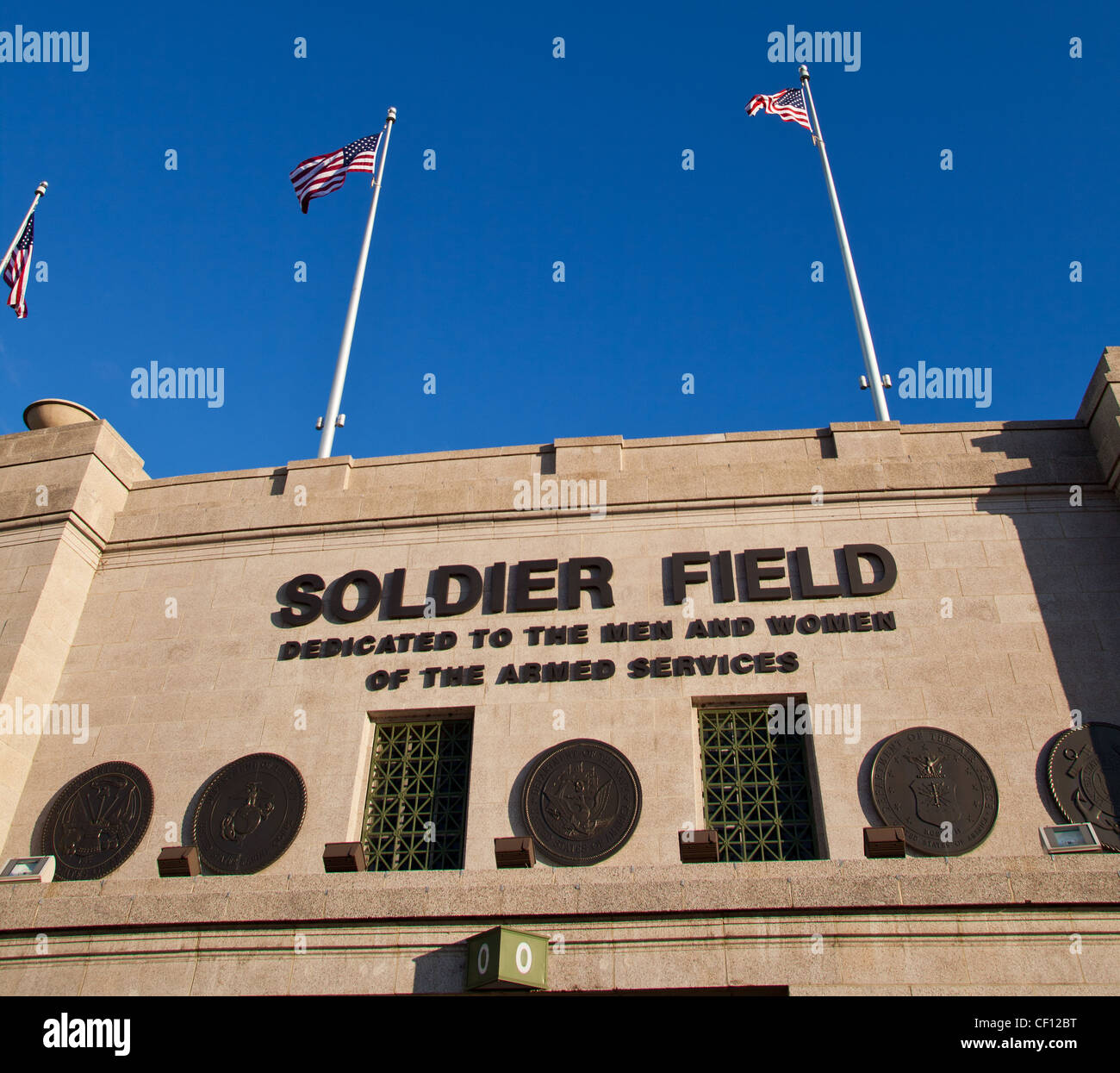 Home Of The Chicago Bears Stock Photos   Home Of The Chicago Bears ... b4d7267de