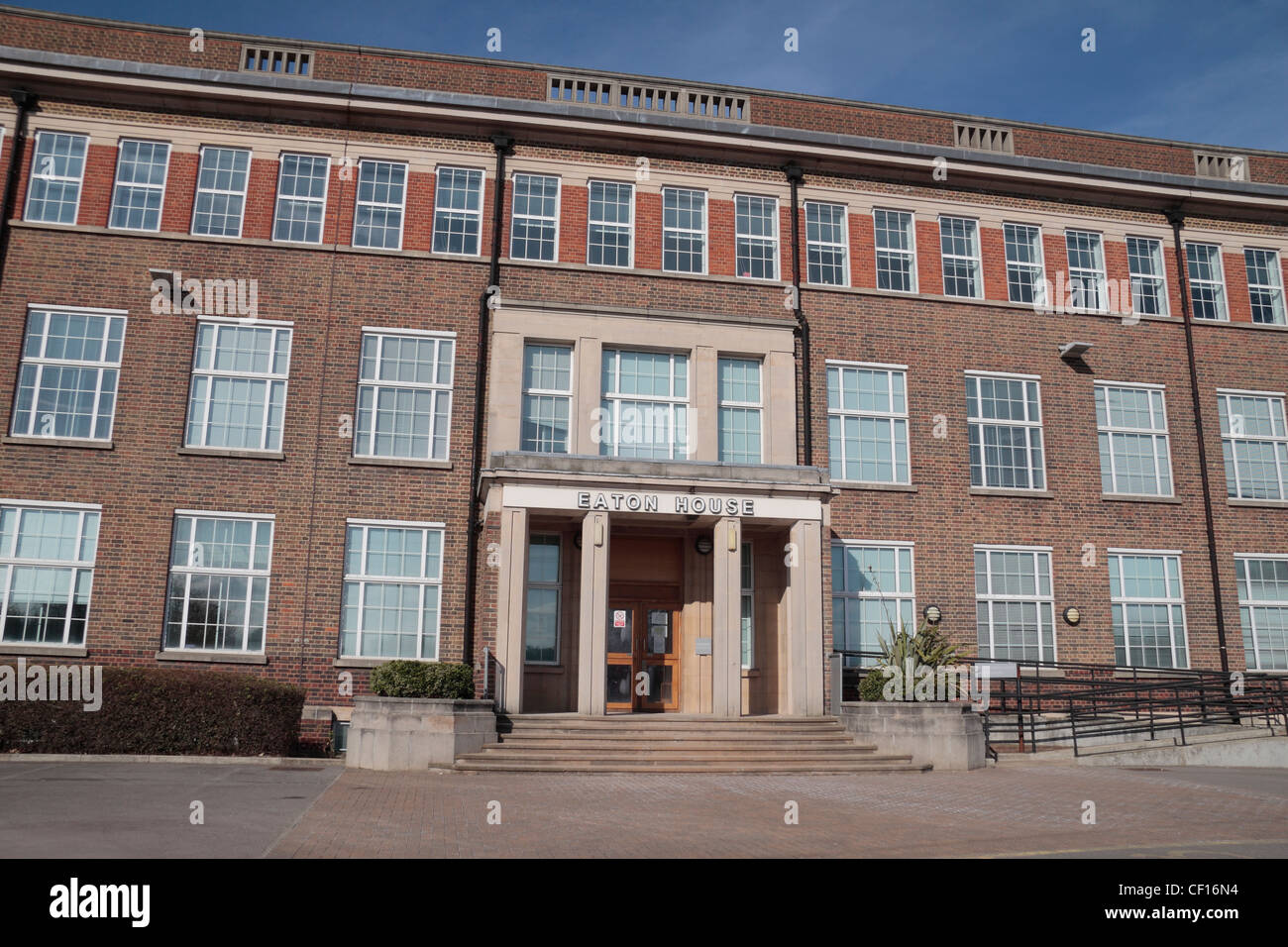 Main entrance of eaton house a uk border agency home office stock photo 43667824 alamy - London immigration office ...