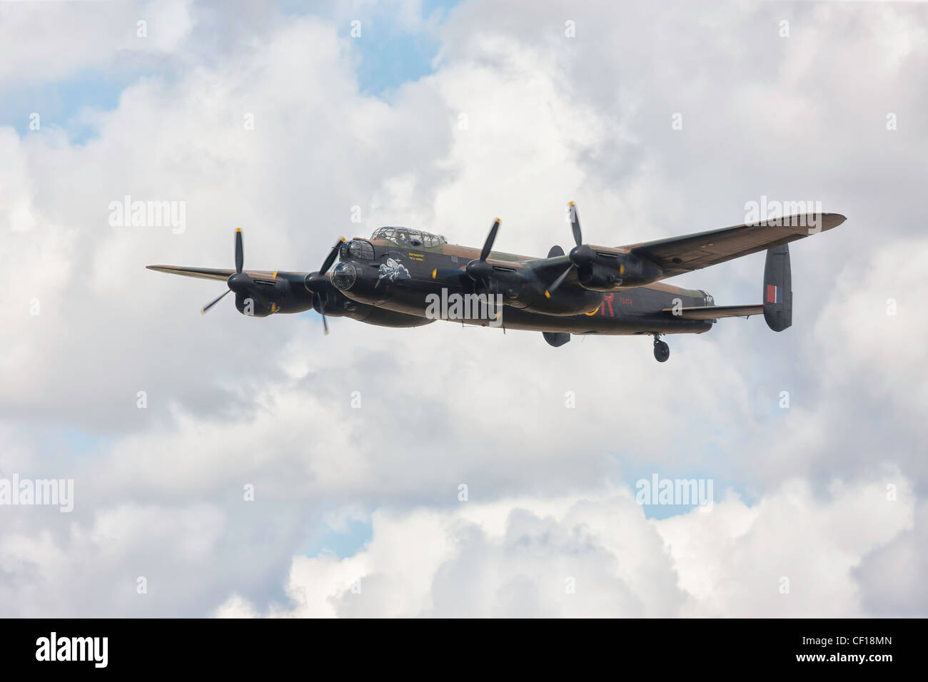 Avro Lancaster PA474 City of Lincoln at RIAT 2010, Fairford. - Stock Image