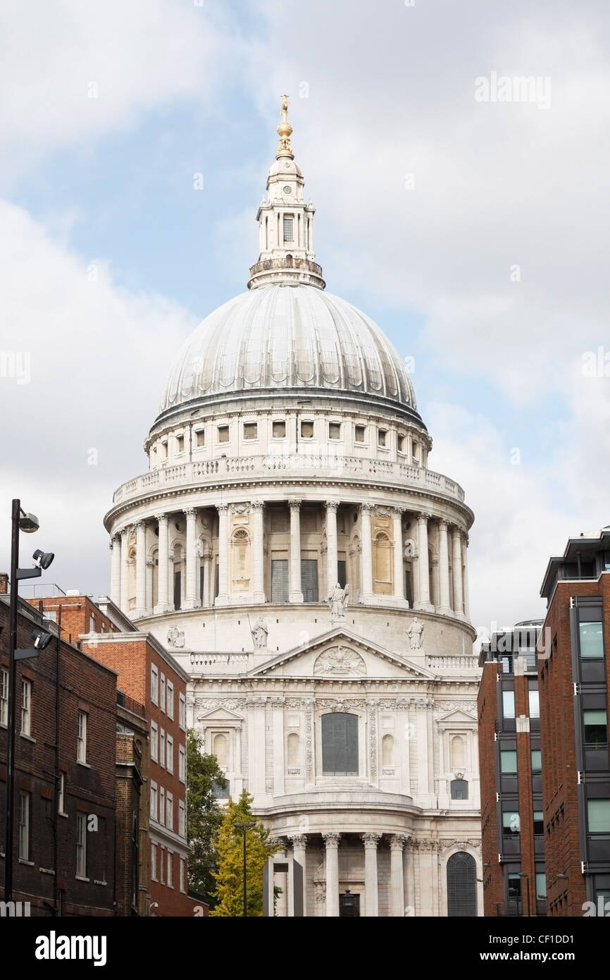 St pauls cethedral in London Stock Photo
