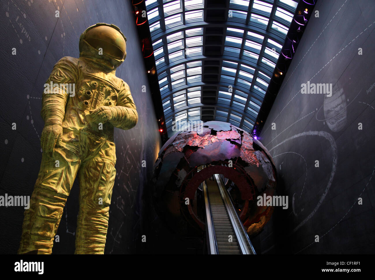 Entrance to the Science Museum in Kensington, London 2 Stock Photo