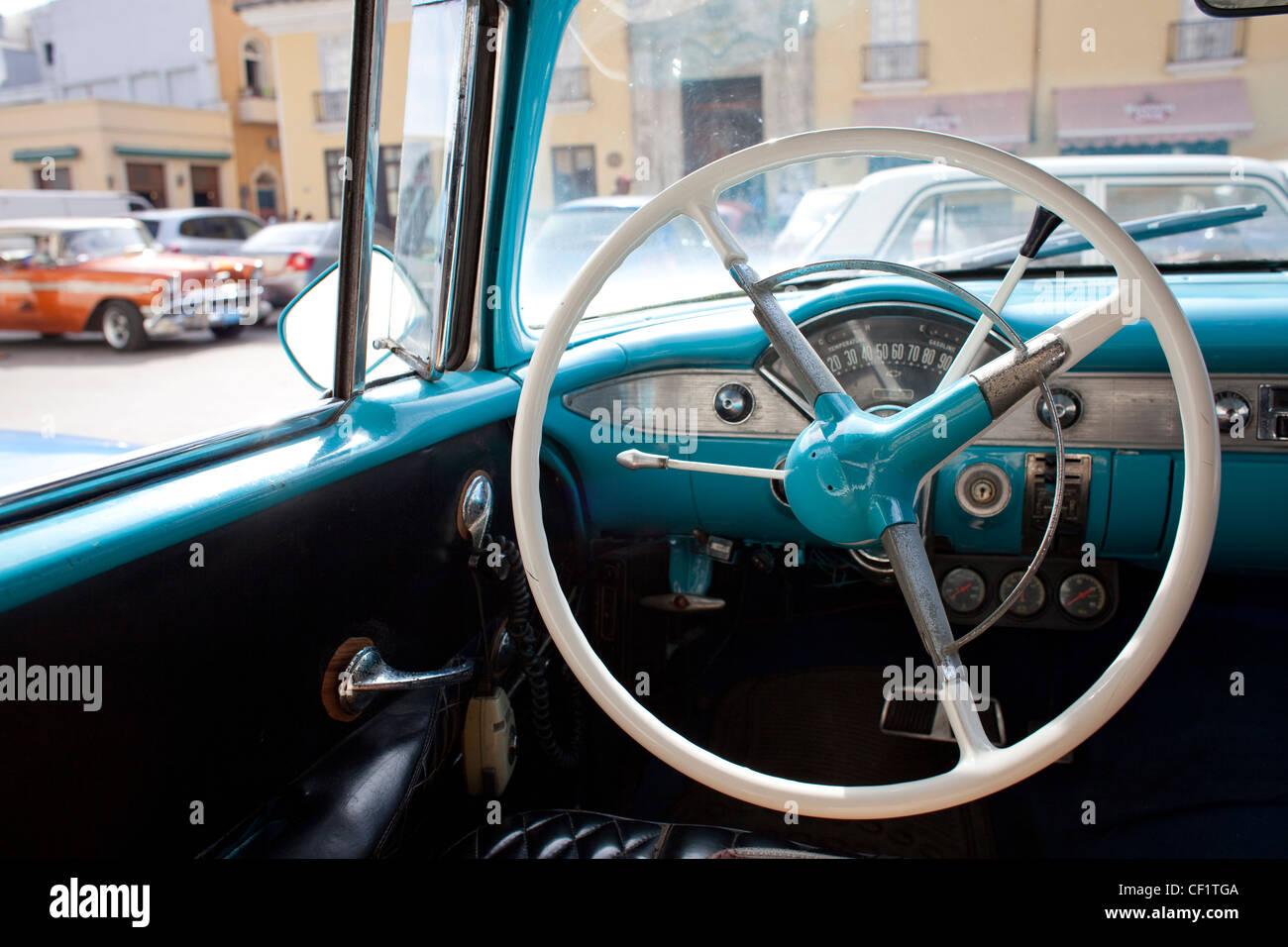 1950s car interior stock photos 1950s car interior stock images