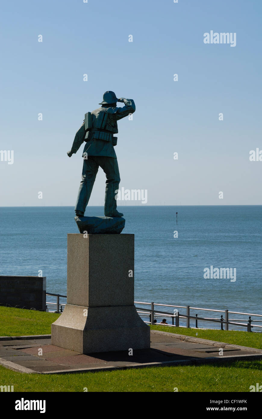 Memorial to the crew of the surfboat 'Friend to all nations' which went down with all lives lost in 1897. - Stock Image