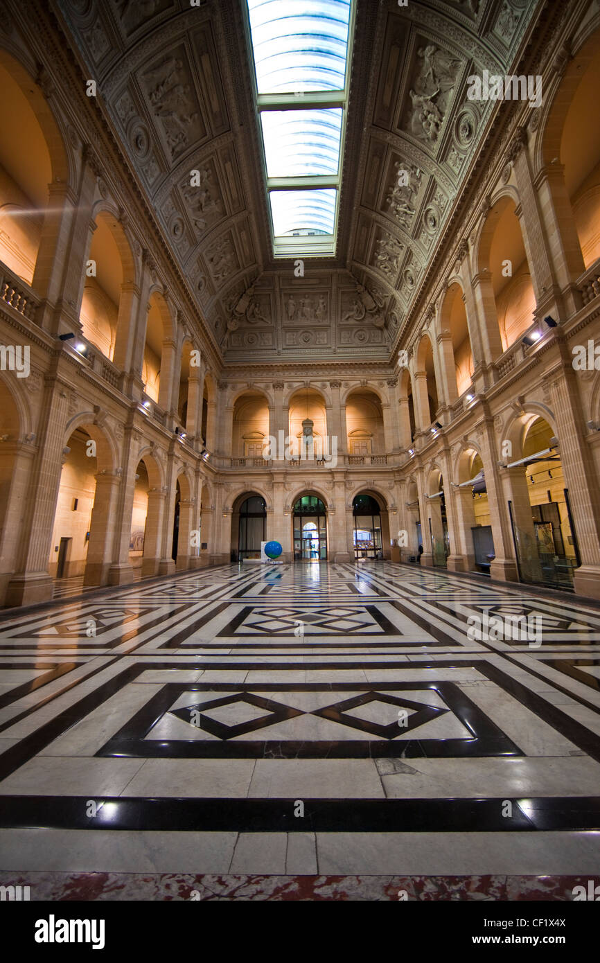 Marseille : Inside the Chamber of Commerce - Stock Image