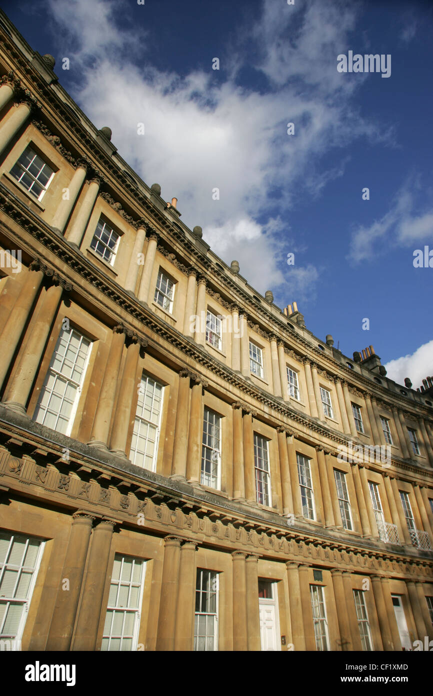 The Circus in Bath. - Stock Image