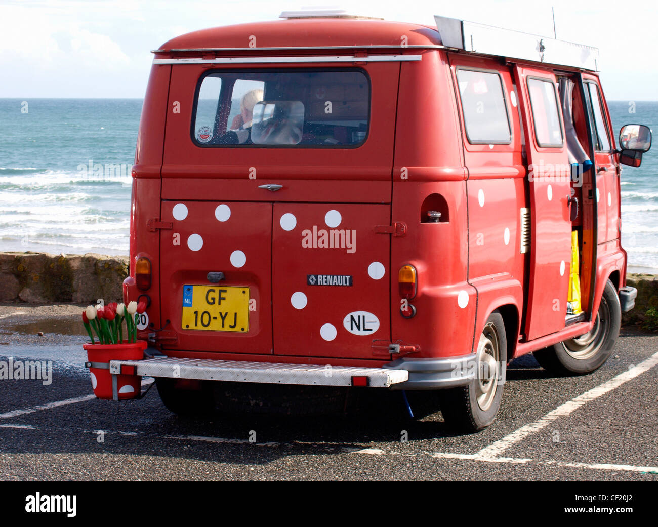 Old Renault Van High Resolution Stock Photography And Images Alamy