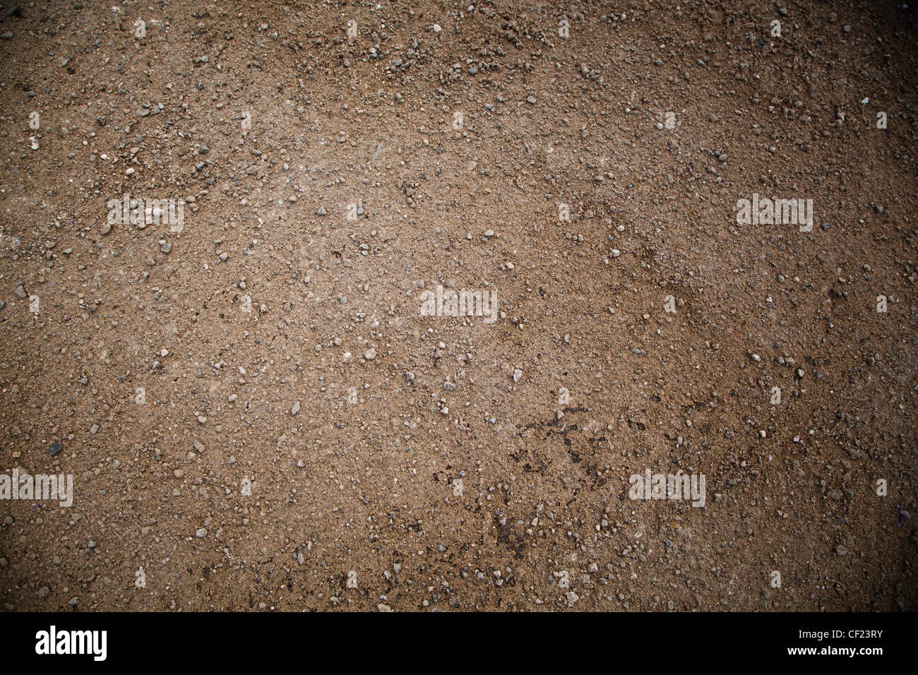 Dirty brown Sand Background with Nobody - Stock Image