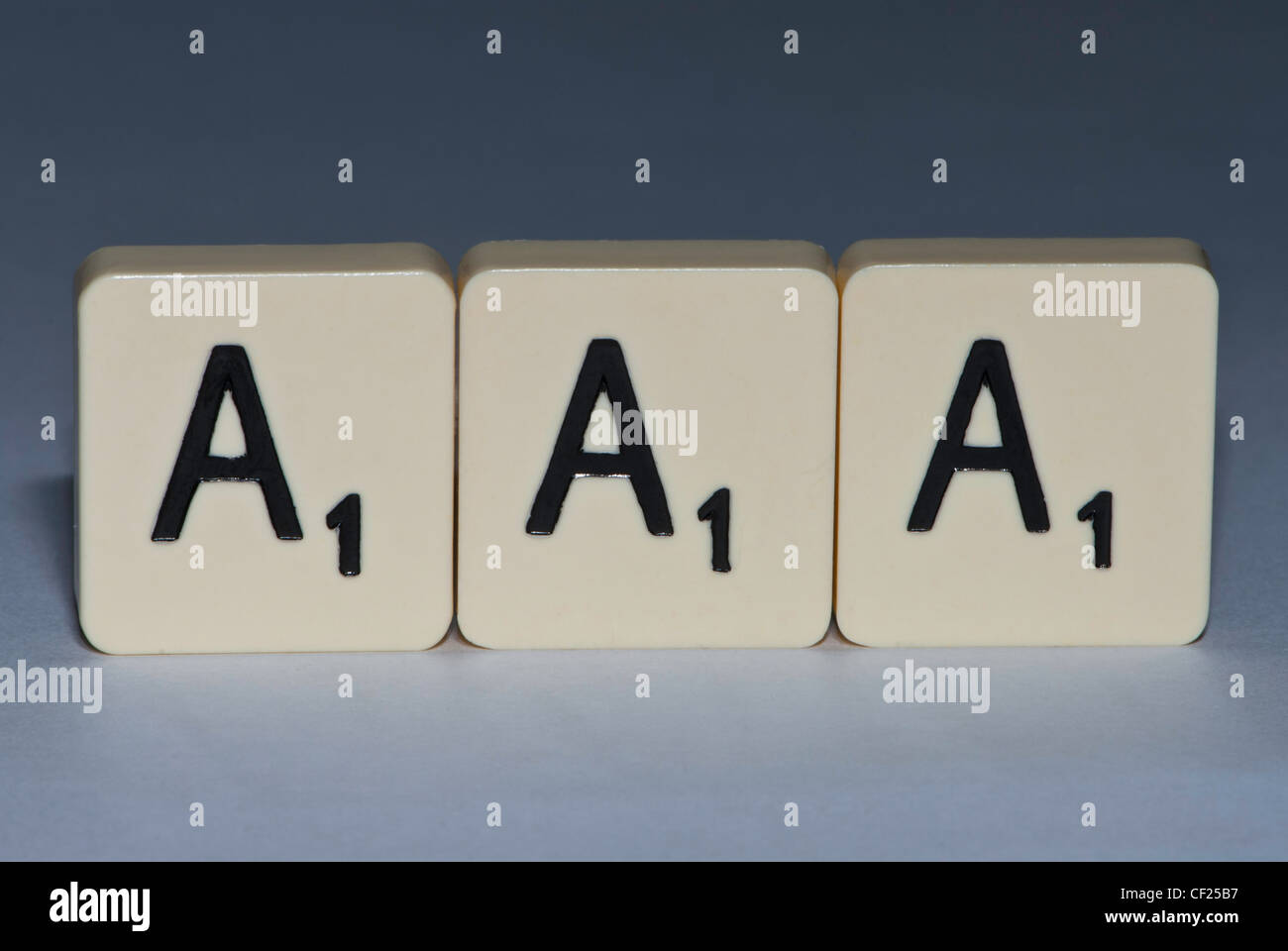 Letters Spelling The Letters Aaa Stock Photo 43688715 Alamy