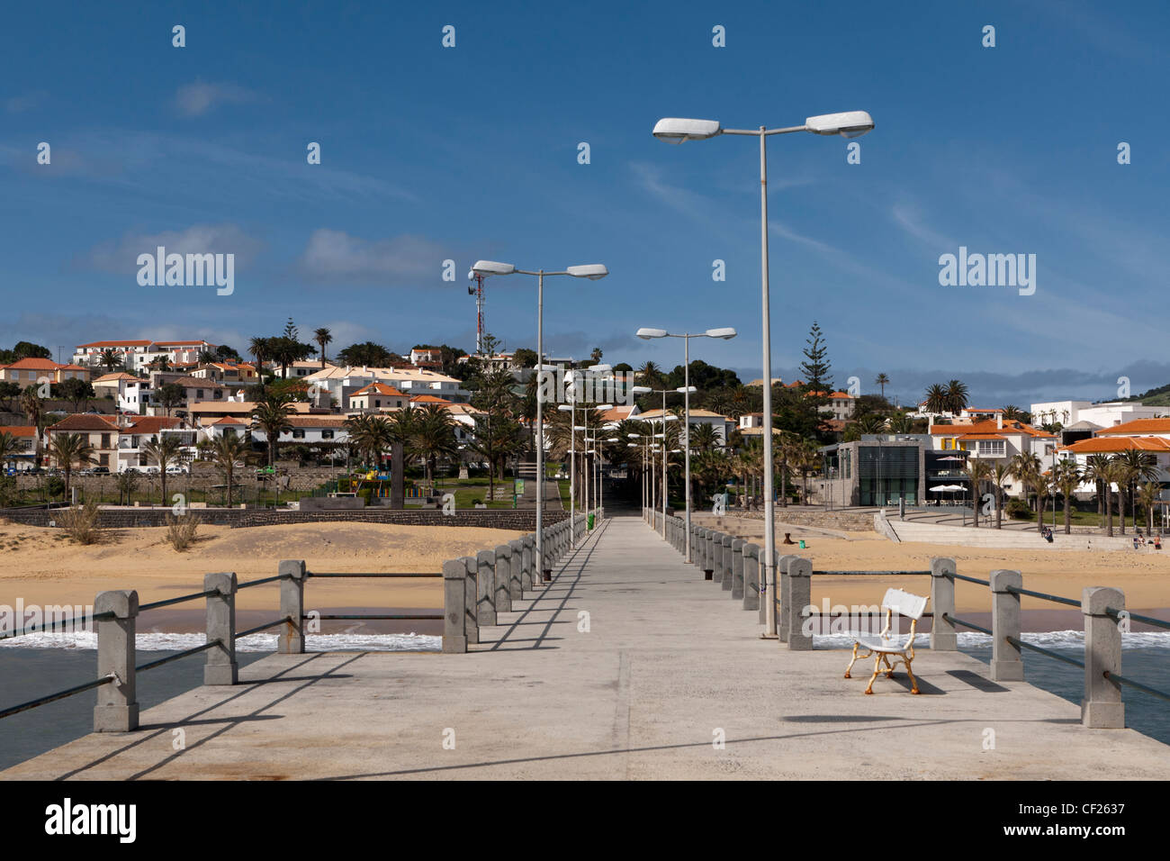 Vila Baleira, Porto Santo, Portugal - Stock Image