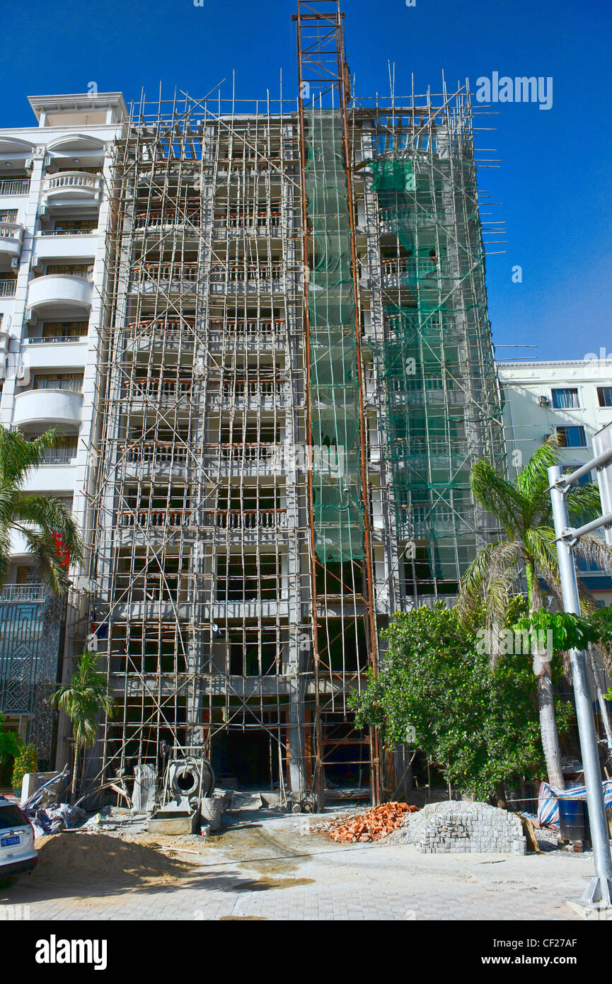 how to build bamboo scaffolding
