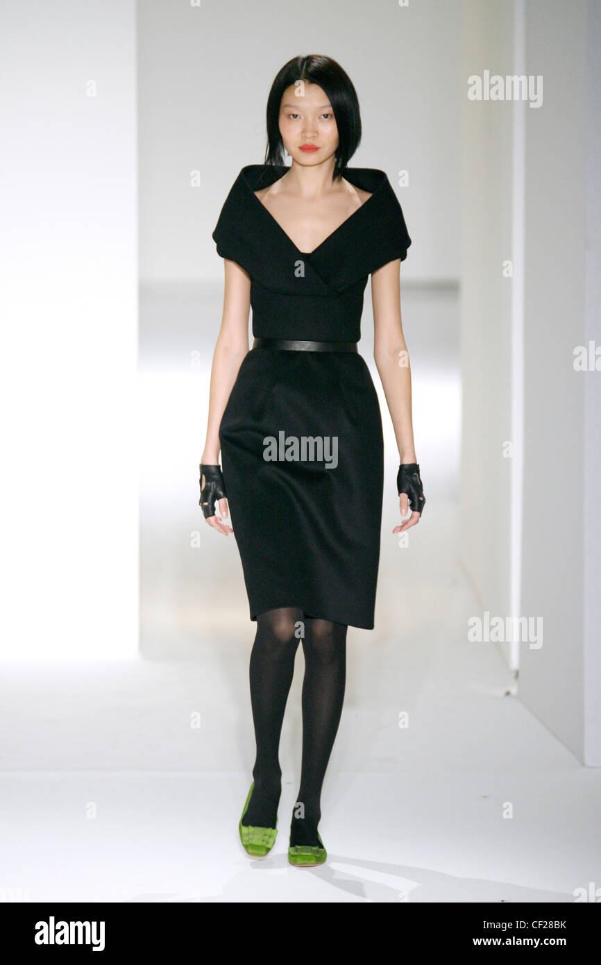 Wear Autumn Winter Black dress