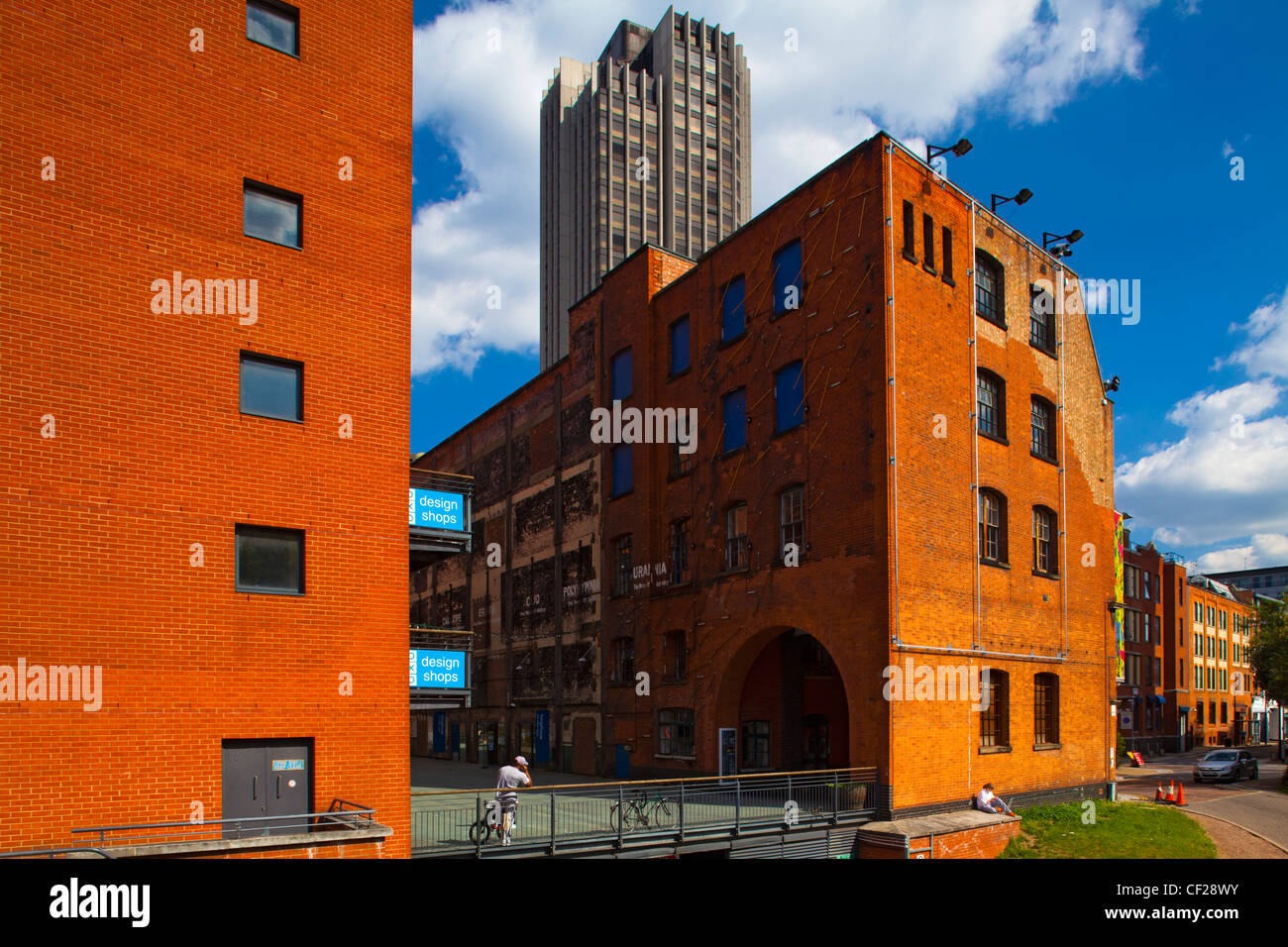 The OXO Tower complex with Sea Containers House beyond. - Stock Image
