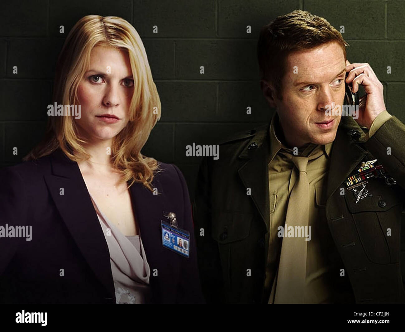 HOMELAND (TV) (2011) CLAIRE DANES, DAMIAN LEWIS 001 MOVIESTORE COLLECTION LTD - Stock Image