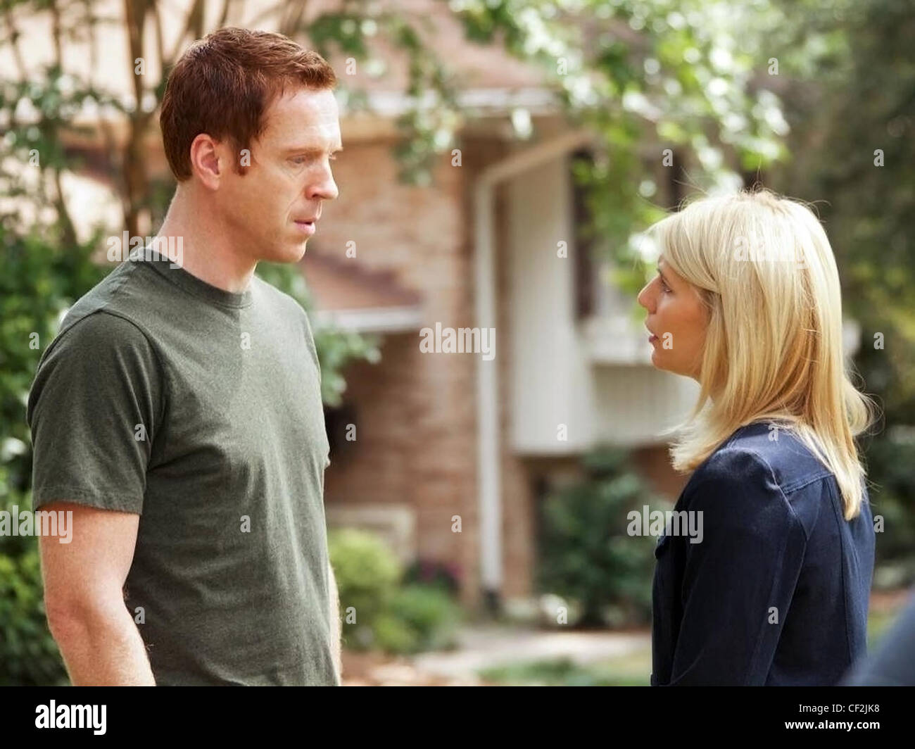 HOMELAND (TV) (2011) DAMIAN LEWIS, CLAIRE DANES 003 MOVIESTORE COLLECTION LTD - Stock Image