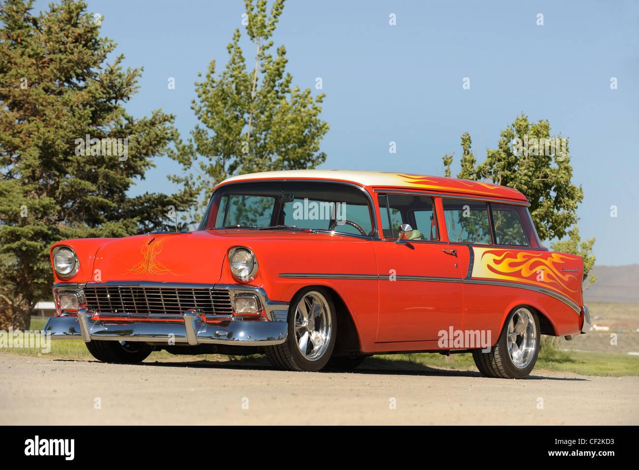 1956 Chevrolet Handyman Custom - Stock Image