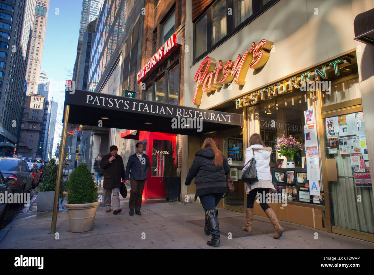 Patsy S Italian Restaurant In Midtown Manhattan Restaurants