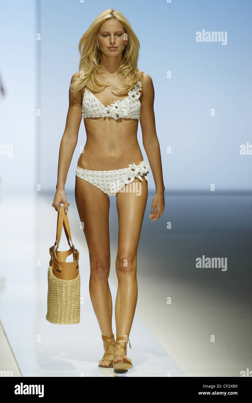 Paco Rabanne Paris Ready To Wear Spring Summer Model Karolina Kurkova Stock Photo 43705181 Alamy