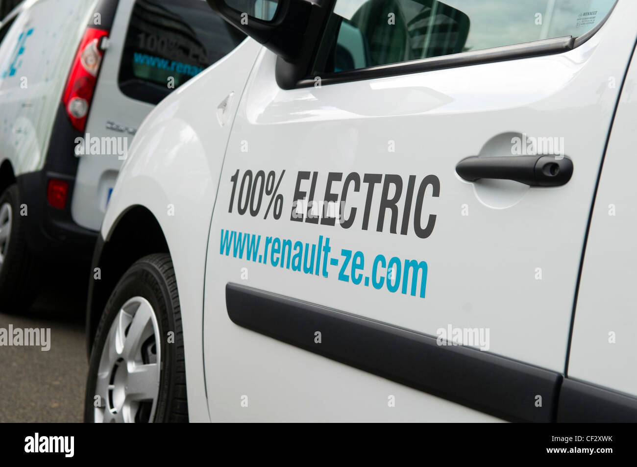 Electric vehicles - Stock Image