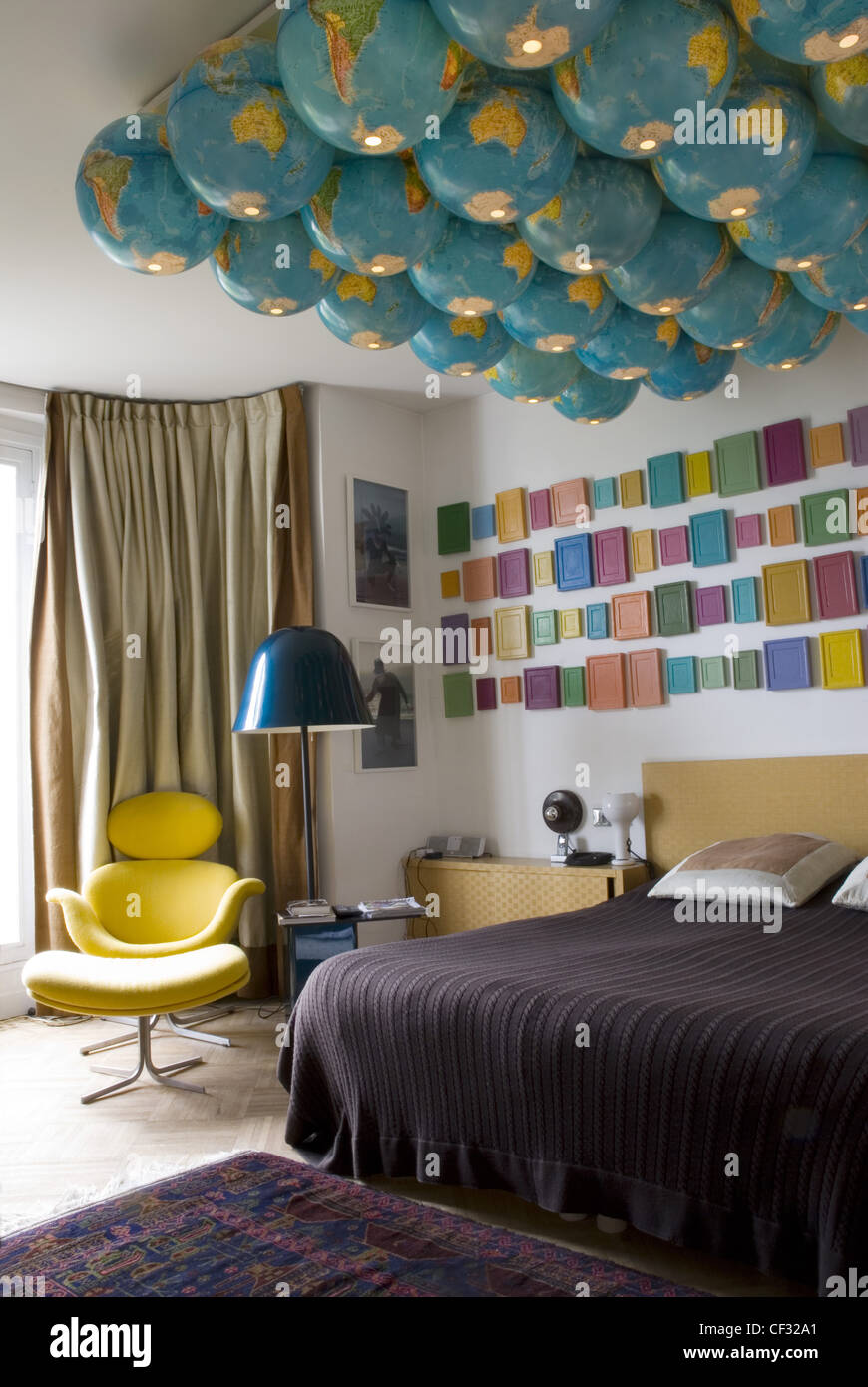 French New Wave The Refurbished Home Of Parisian Furniture Dealer Stock Photo Alamy
