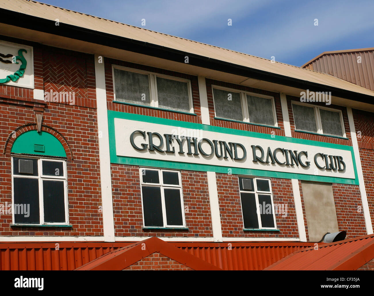 Perry Barr Stadium, a greyhound racing and speedway venue. - Stock Image