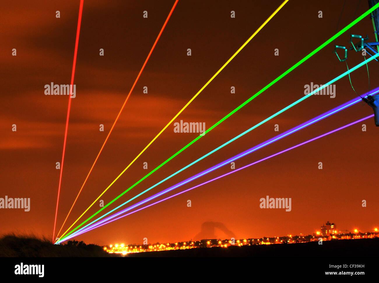 Global Rainbow - Stock Image