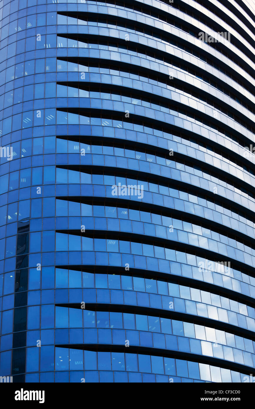 Israel,Tel Aviv,high rise buildings in the financial district - Stock Image