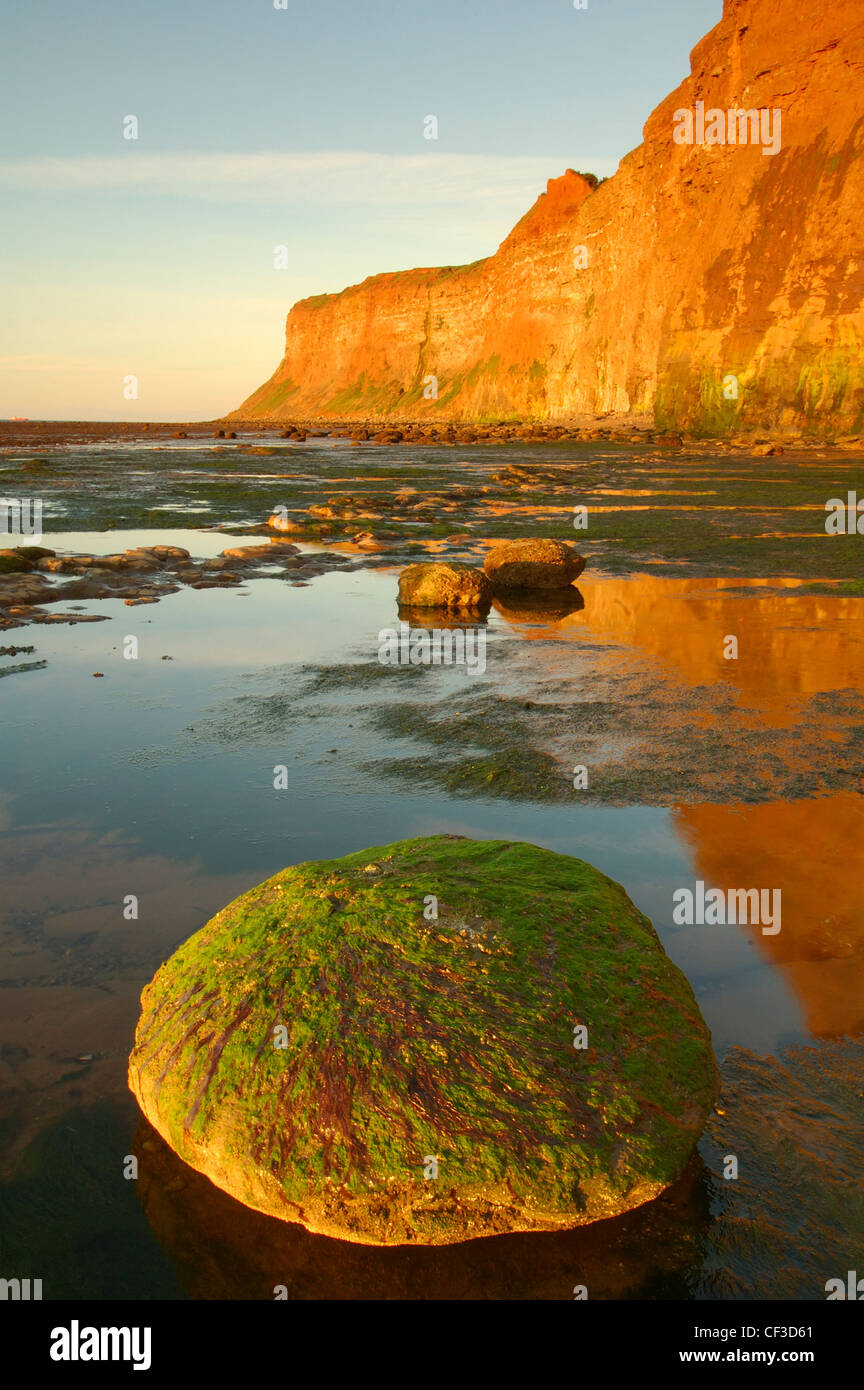Views taken around the rugged coastline found at Saltburn-by-the-Sea. - Stock Image