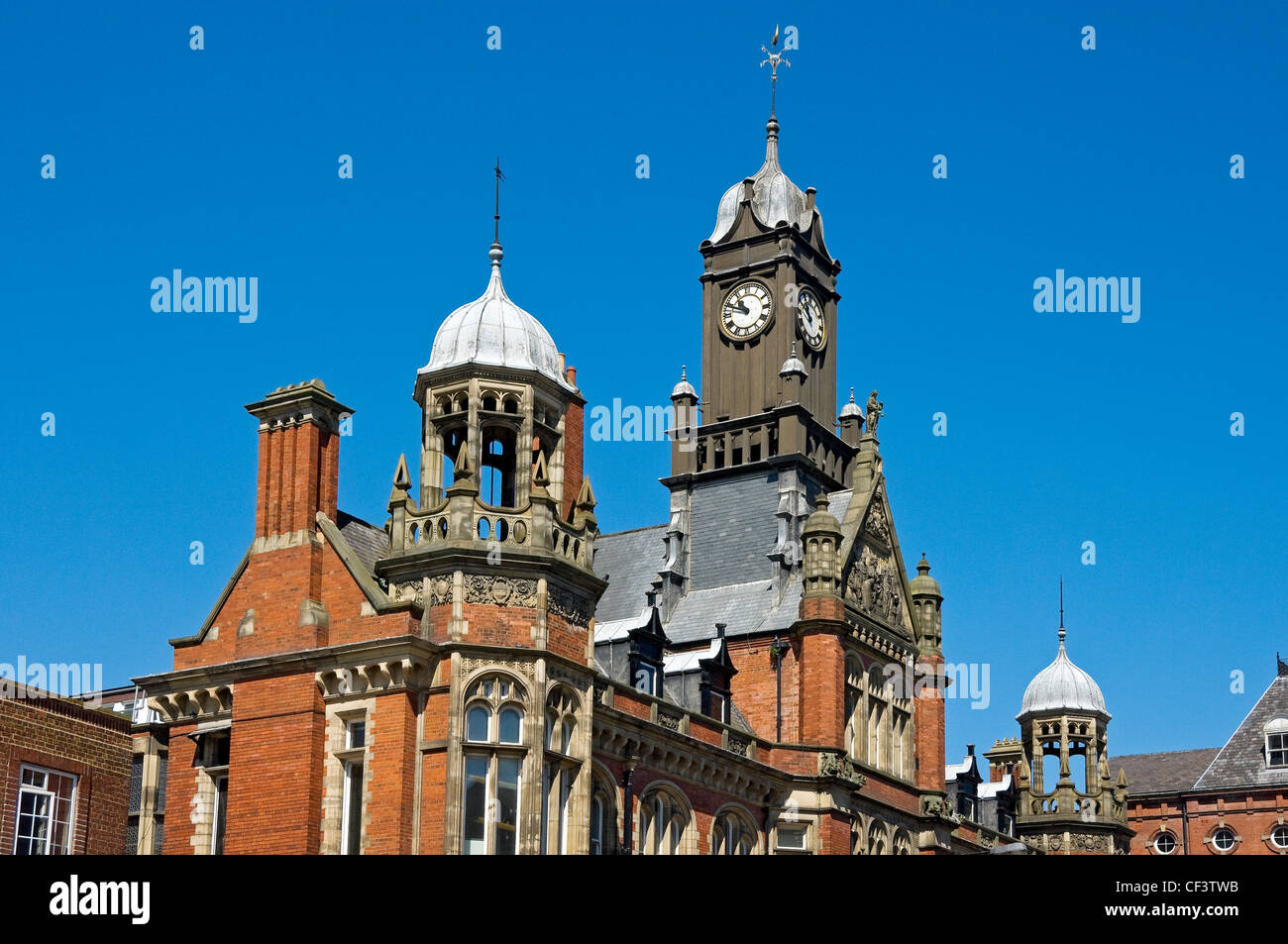 York Magistrates' Court, an imposing Victorian building in Clifford Street built in 1891. - Stock Image