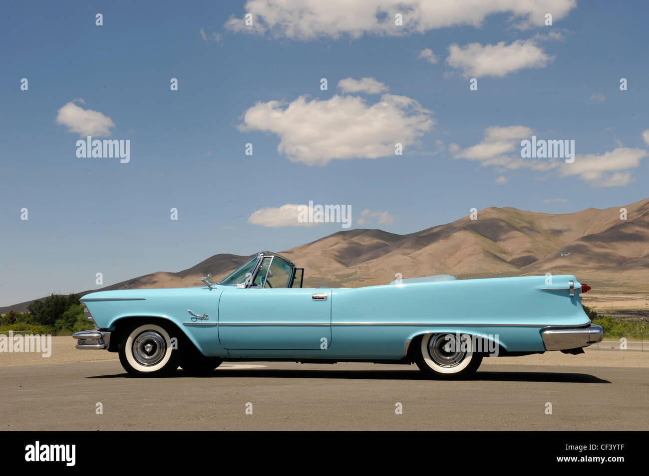 1950s Car Chrysler Stock Photos Amp 1950s Car Chrysler Stock