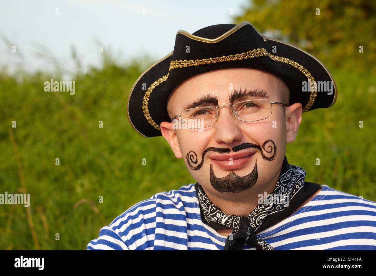 Pirate Beard Man Stock Photos & Pirate Beard Man Stock ... - photo#46