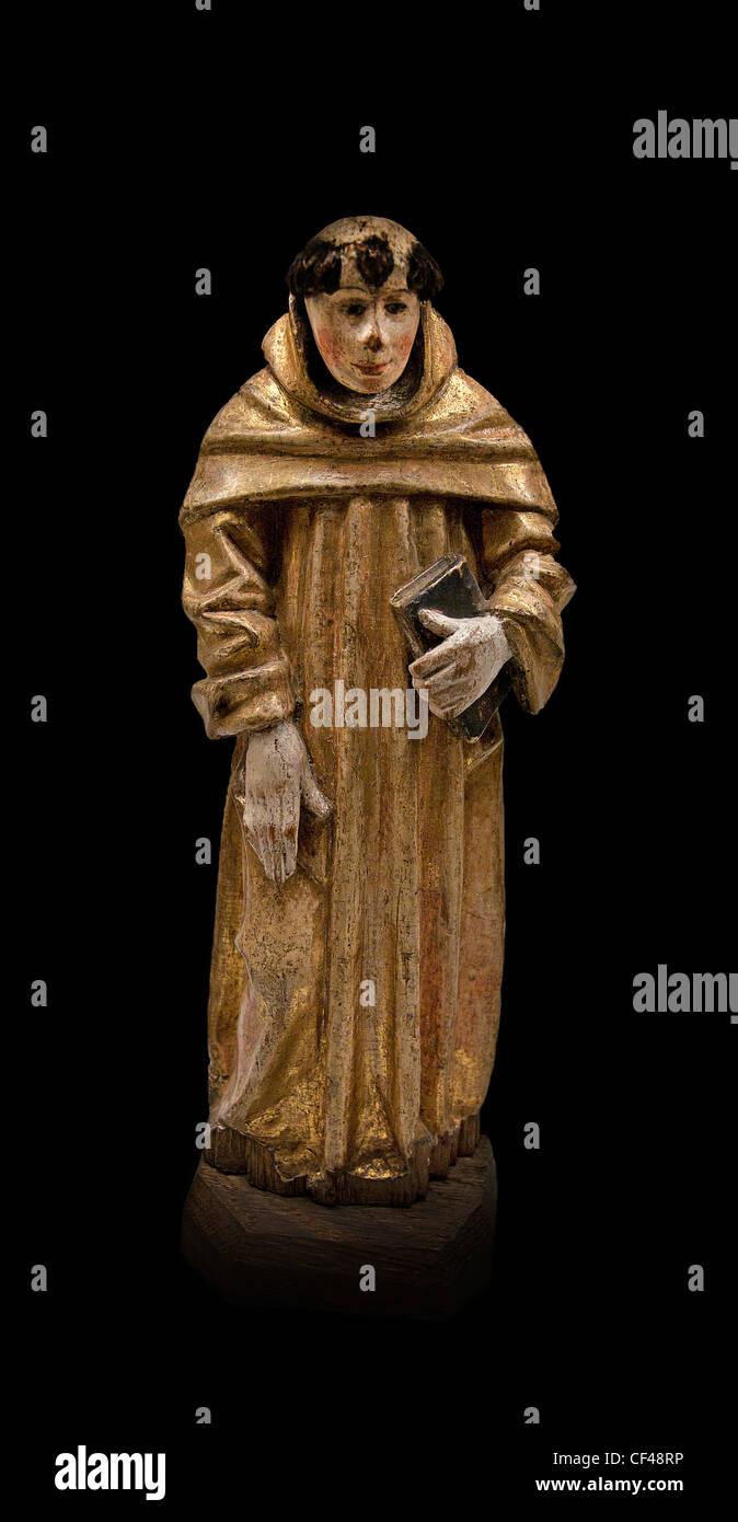 Monk 1520 Middle Ages Antwerp Belgium Belgium - Stock Image