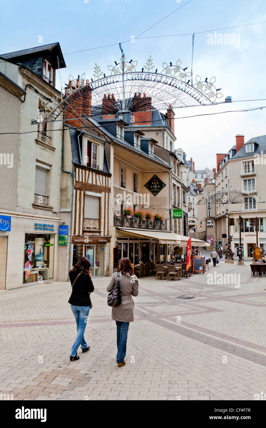 The old town of Blois in the Loire Valley, Centre, France. - Stock Image