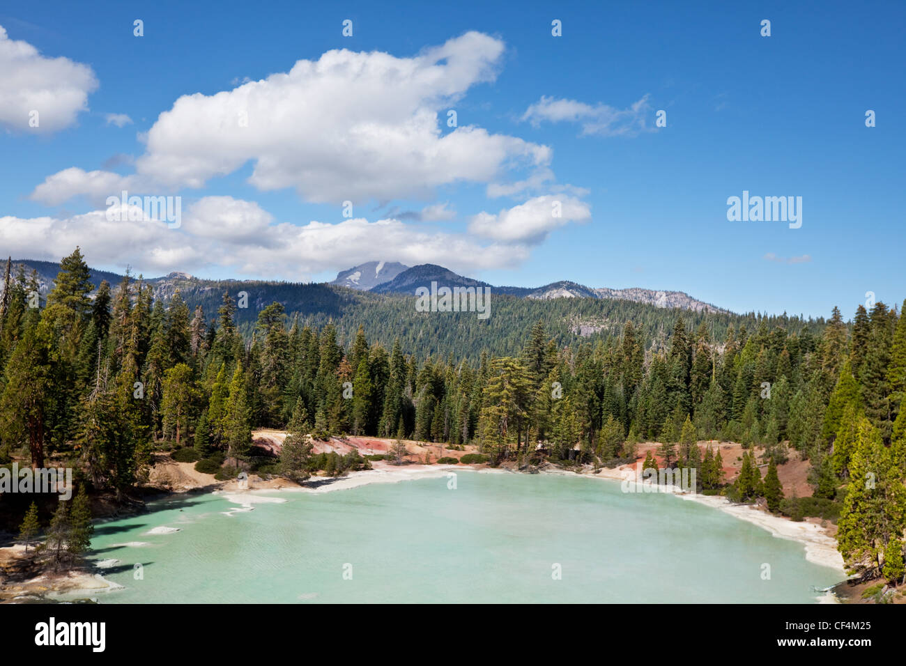 Landscapes in Lassen Volcanic Park - Stock Image