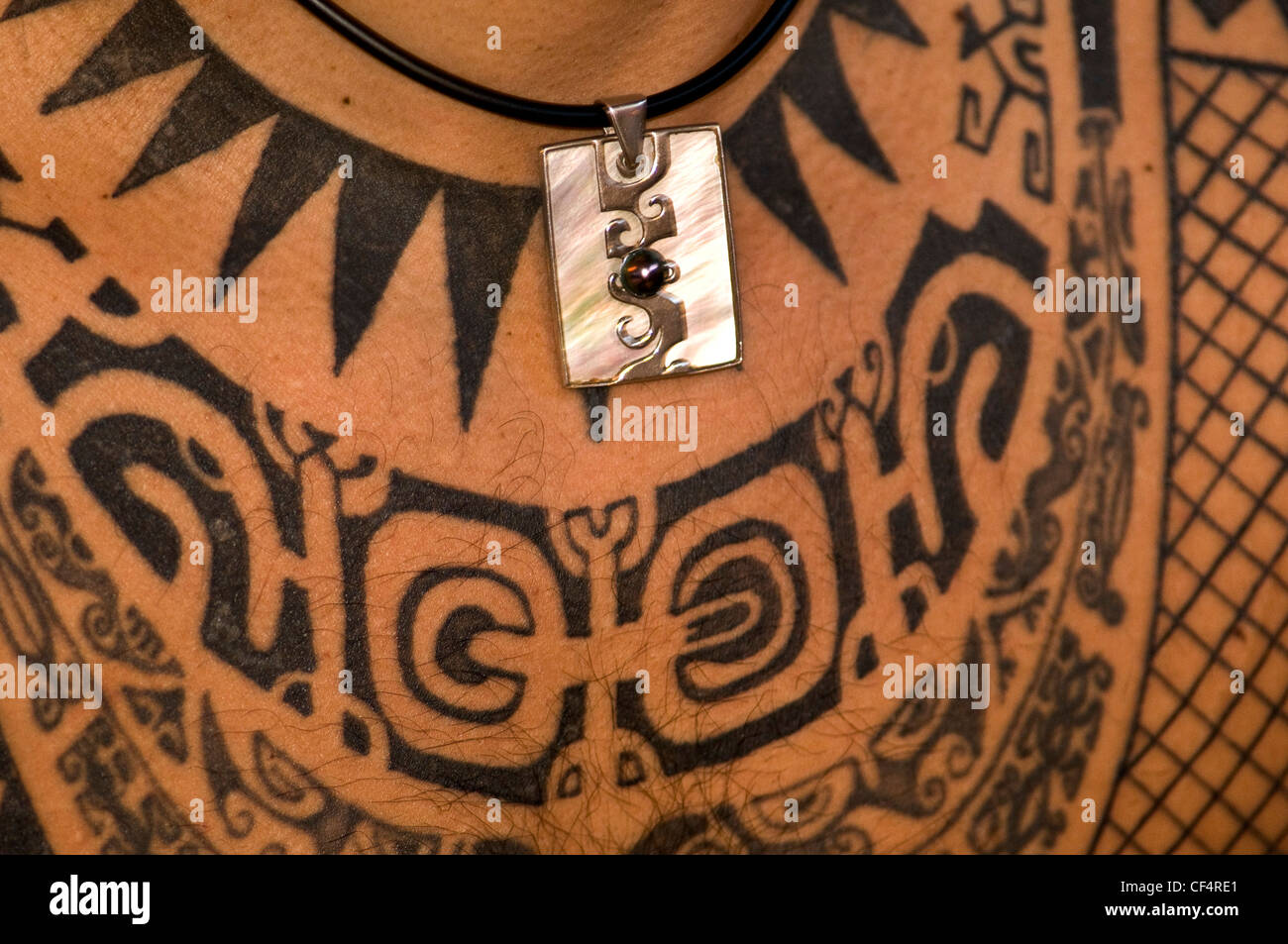 Tattooed Chest Stock Photos & Tattooed Chest Stock Images - Alamy