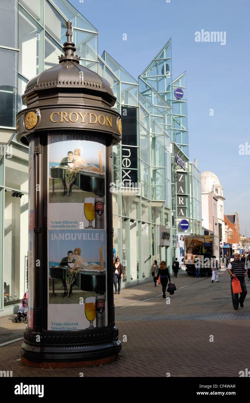 North End shopping precinct in Croydon. - Stock Image