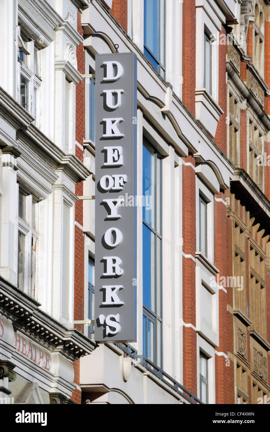The Duke of York's Theatre in St Martin's Lane in London's West End. - Stock Image