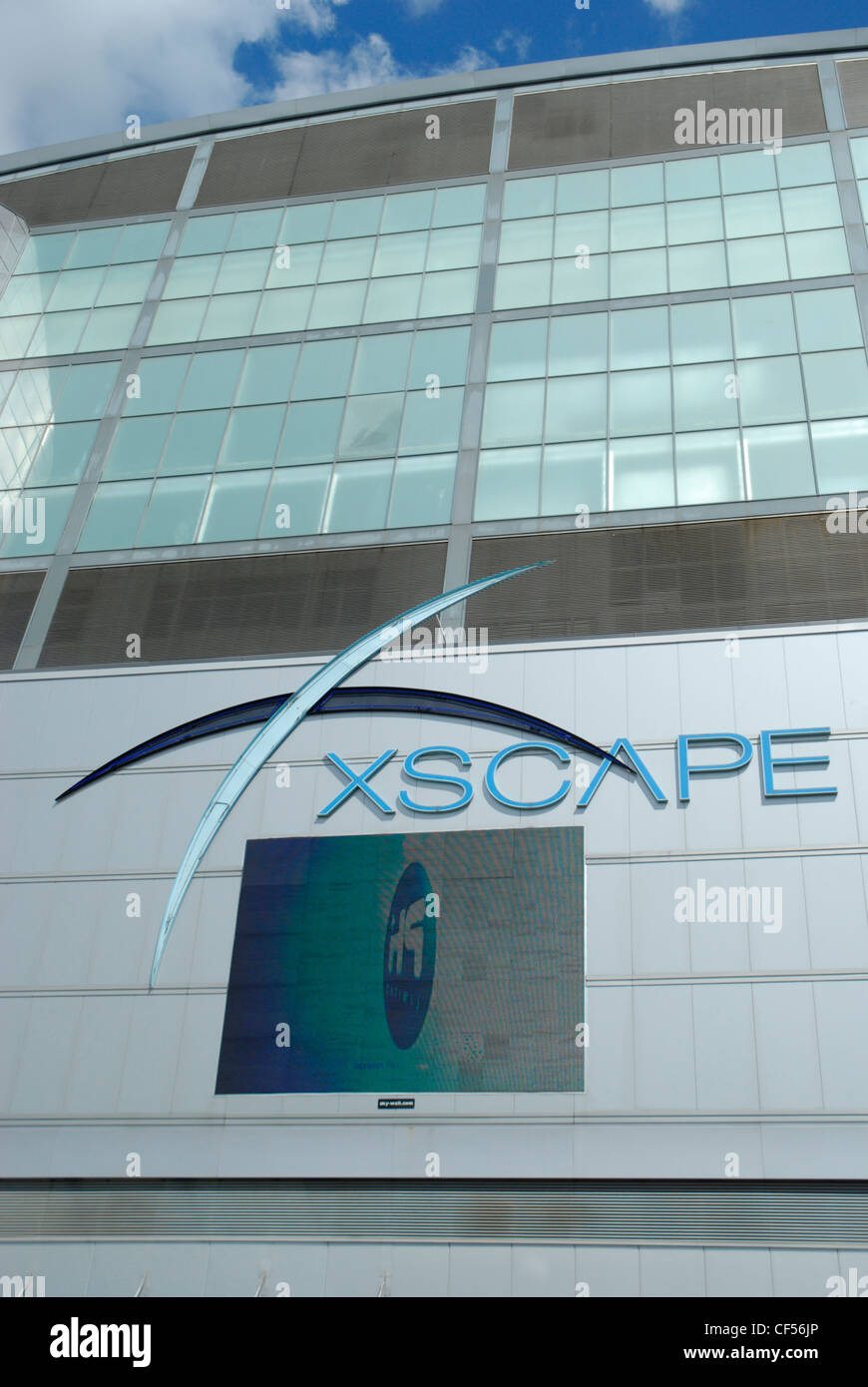 Exterior Of The Xscape Sports And Entertainment Complex In Milton Keynes.    Stock Image