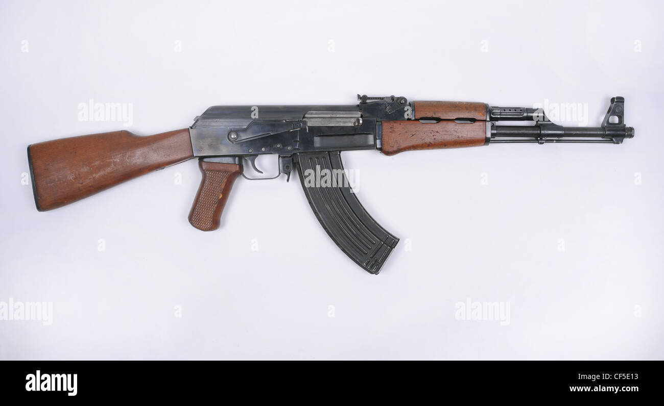Hungarian AK55 assault rifle, a copy of the Russian AK-47
