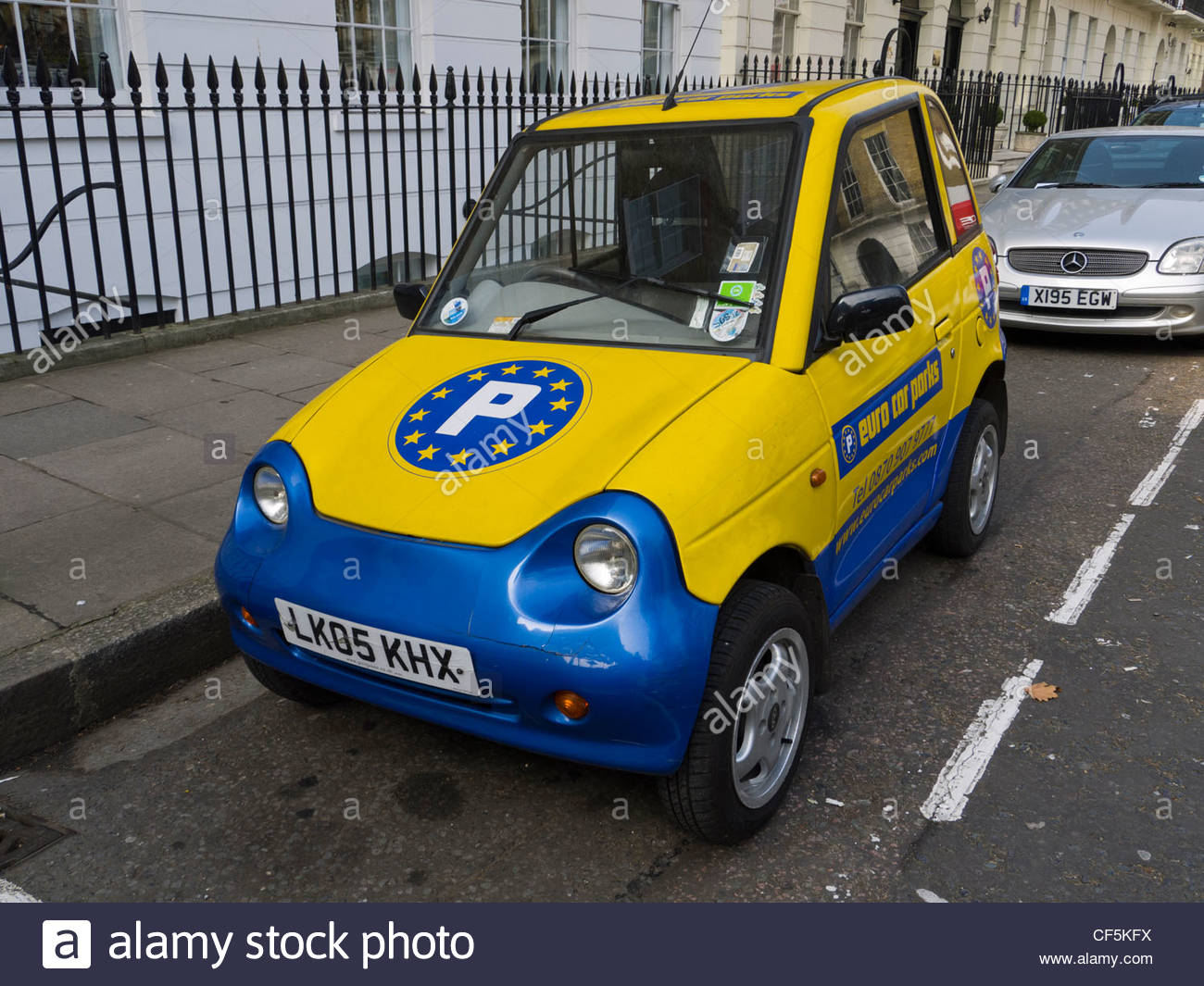 London Small Car Euro Car Parks Marylebone Stock Photo 43765678 Alamy