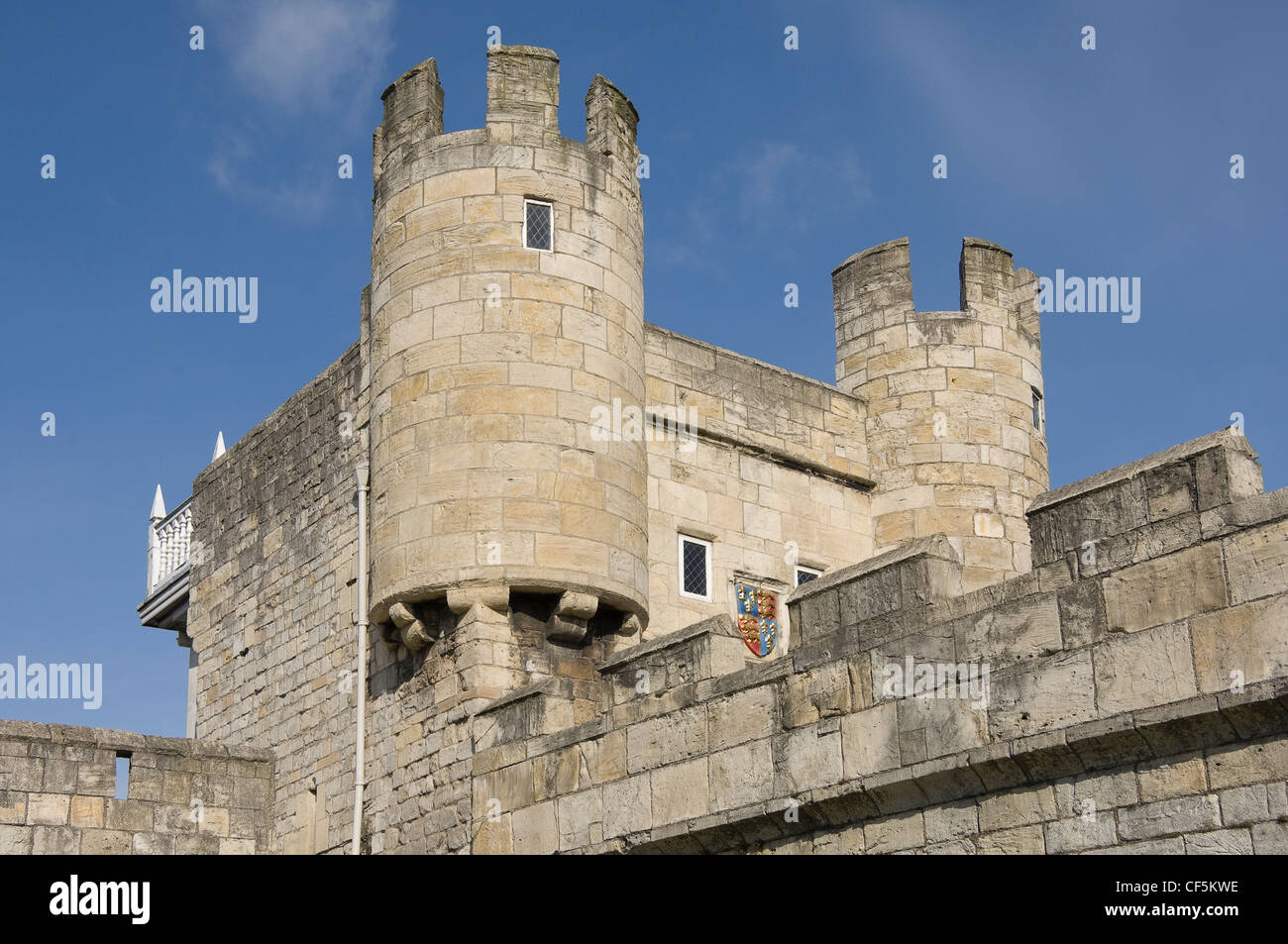 Walmgate Bar and Barbican, the most easterly of the gates of York's medieval wall. - Stock Image