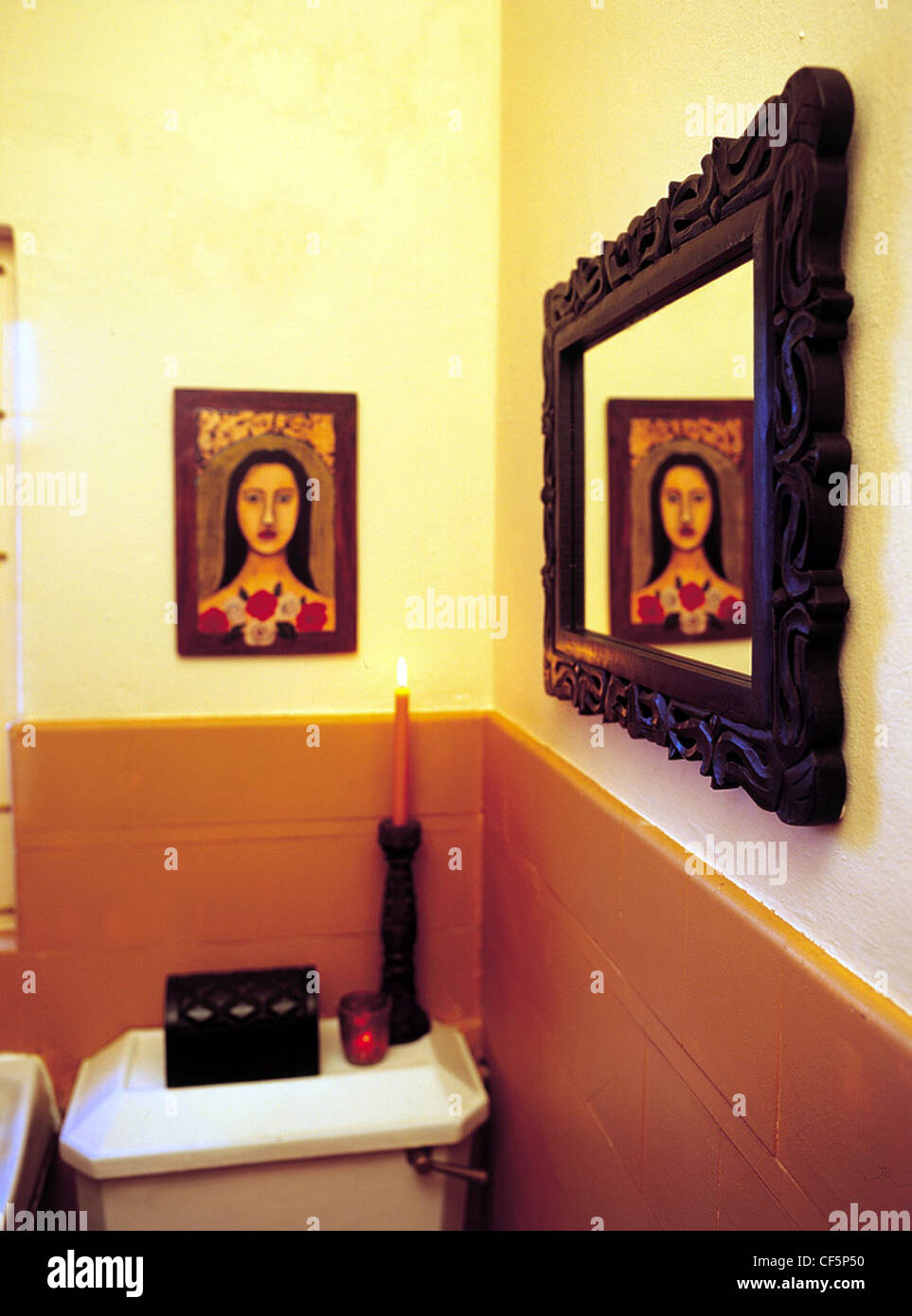 Painted Terracotta Tiles Stock Photos & Painted Terracotta Tiles ...
