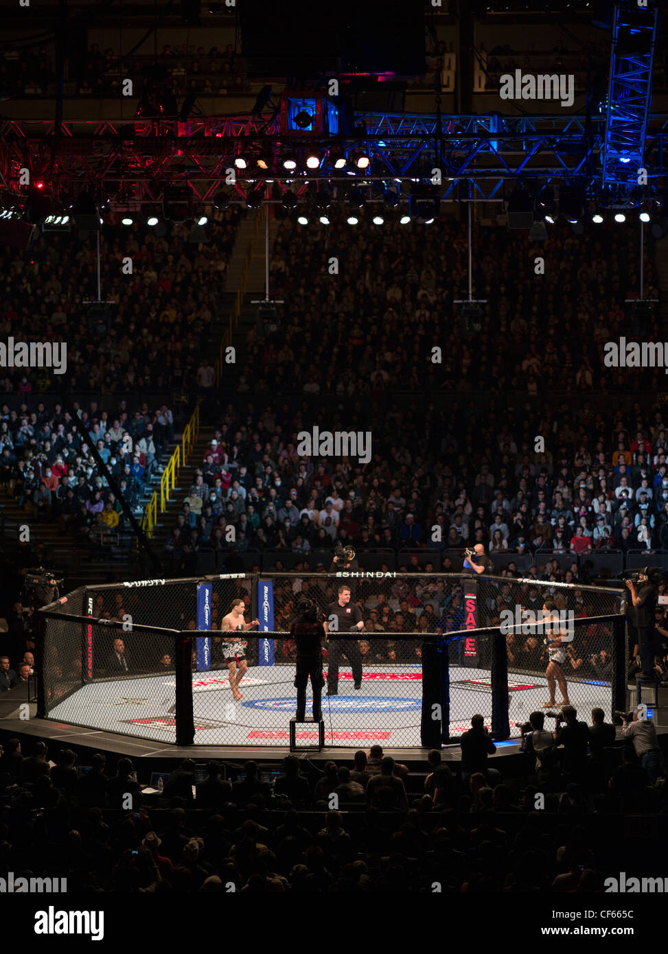 UFC 144: Edgar vs. Henderson - Saitama Super Arena, Tokyo Ultimate Fighting Championship - Stock Image