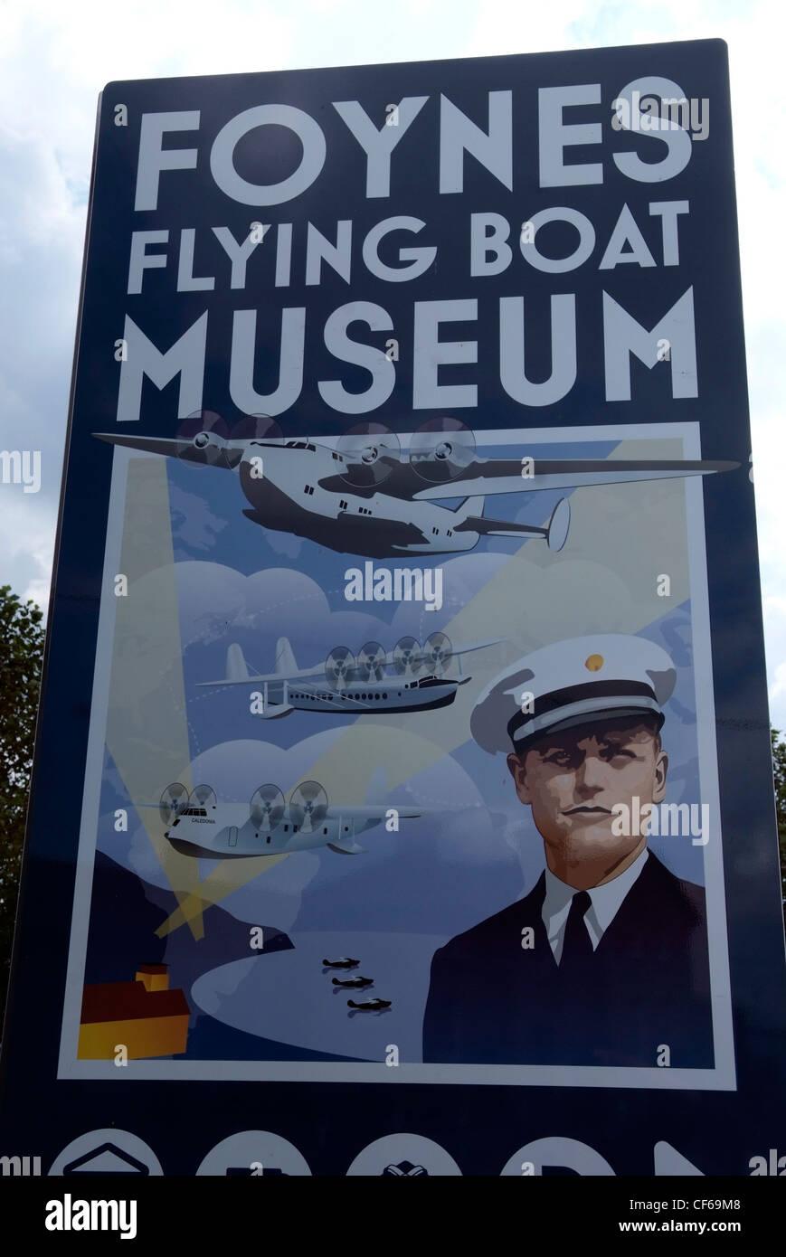 Ireland, Limerick, Foynes Flying Boat Museum - Stock Image