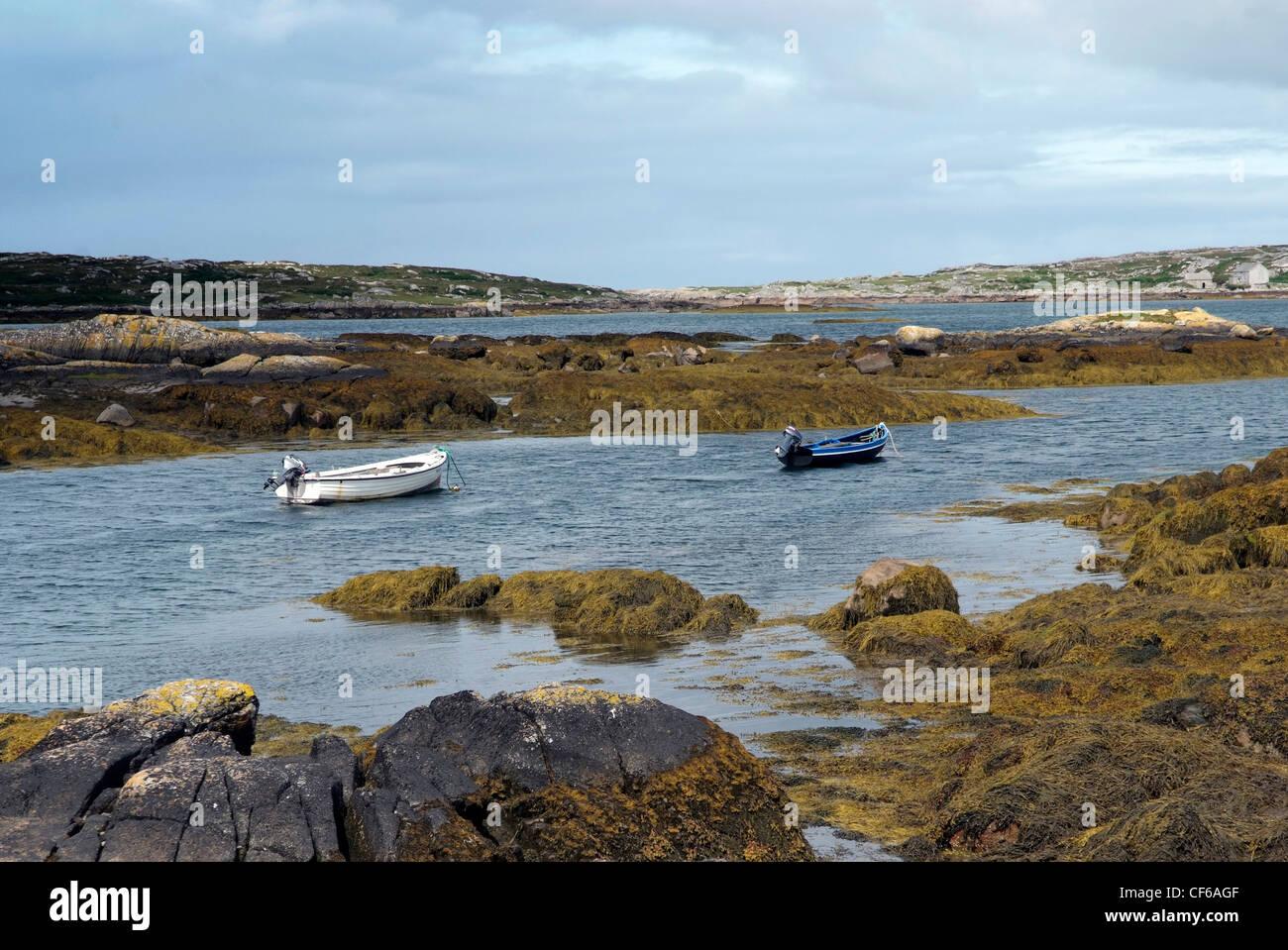 Ireland, Galway, Connemara landscape, Gaeltacht Photo by Glyn Genin - Stock Image