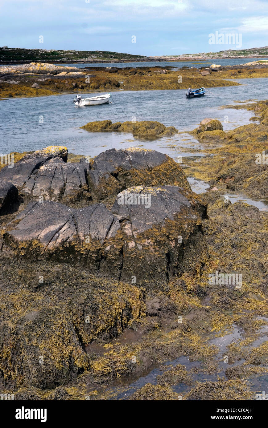 Ireland, Galway, Connemara landscape, Gaeltacht - Stock Image