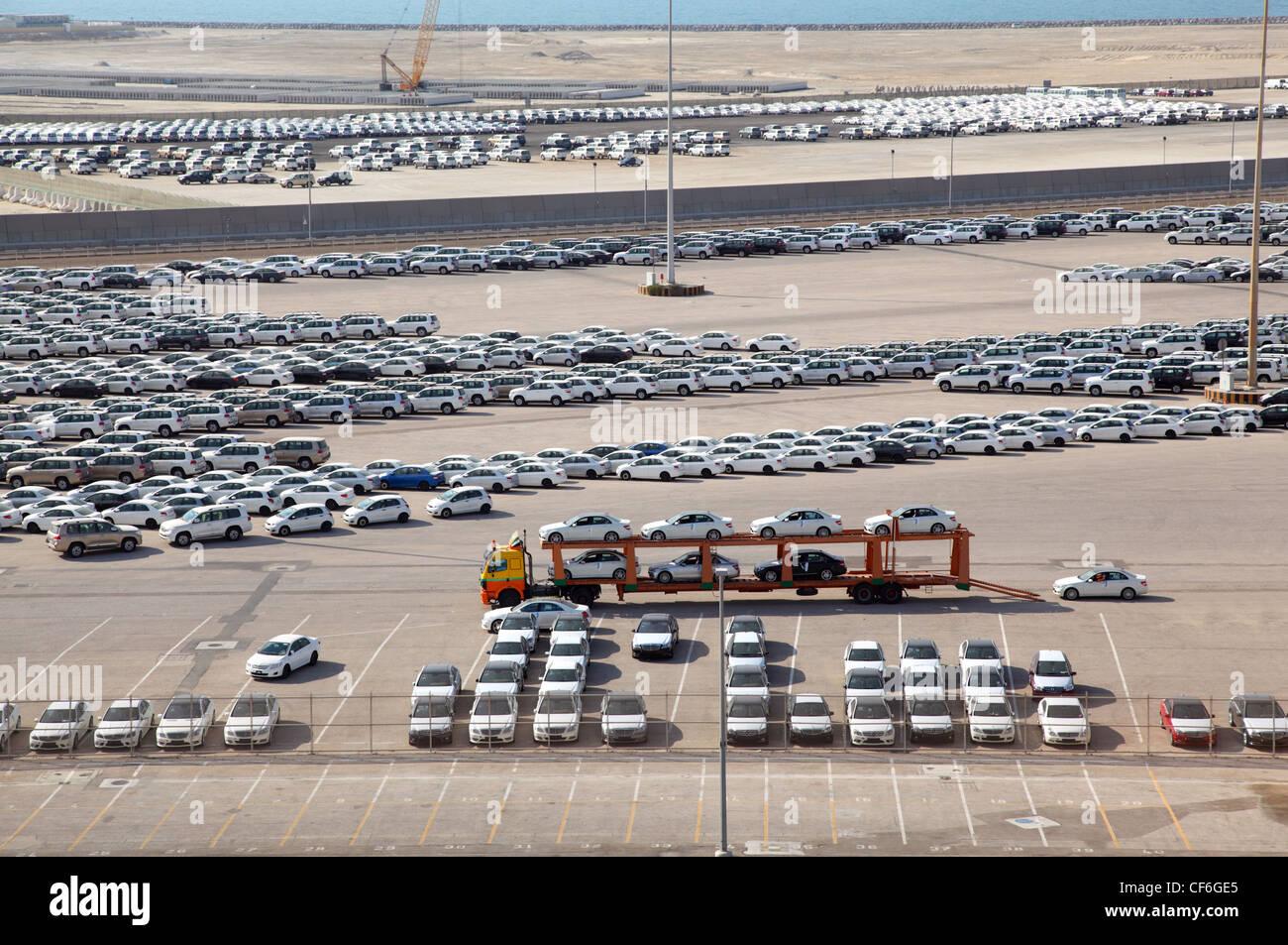 Car Auction Lot Stock Photos & Car Auction Lot Stock Images