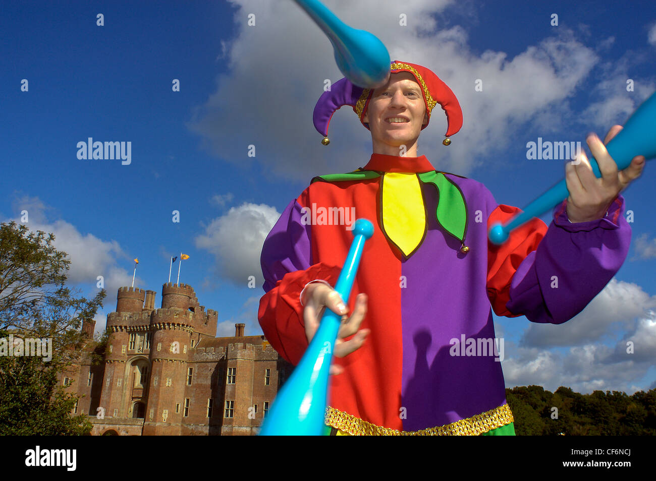 Medieval Juggler Stock Photos & Medieval Juggler Stock
