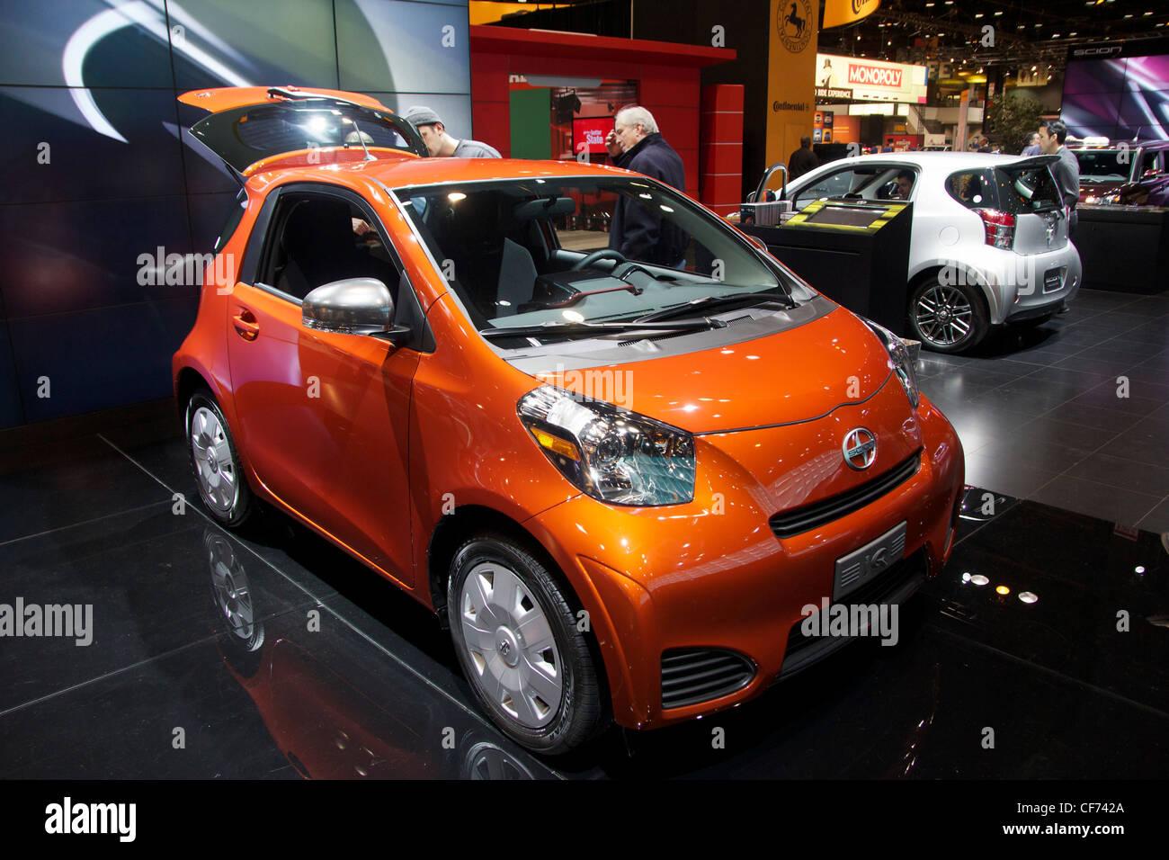 2013 Scion IQ. 2012 Chicago Auto Show - Stock Image