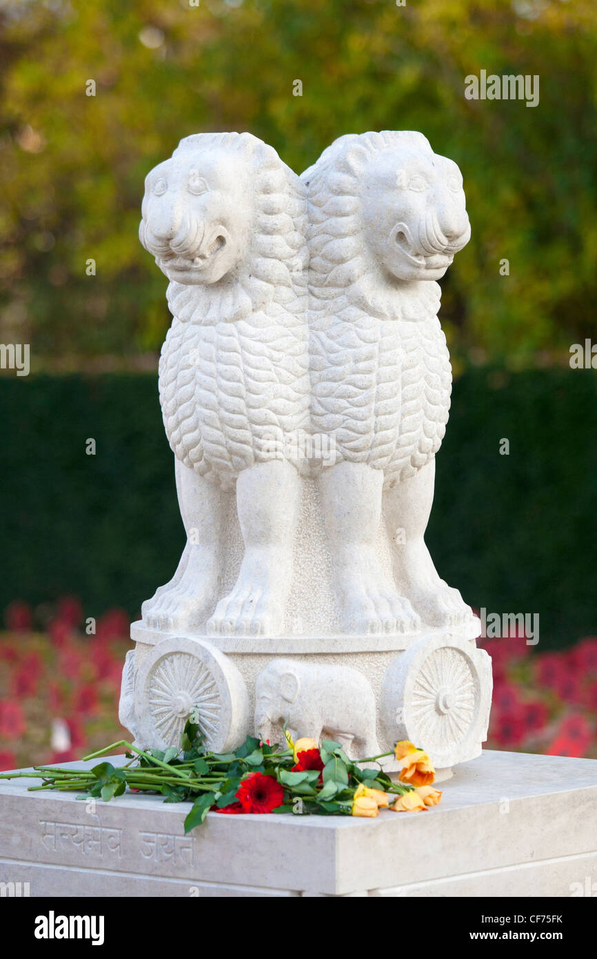 Remembrance day for Indian victims - Stock Image